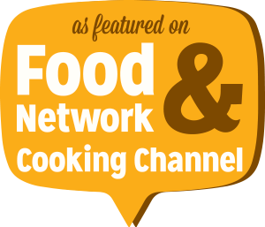 As Featured on Food Network & Cooking Channel